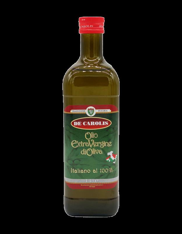Olio Extra Vergine De Carolis 100% ITALIANO